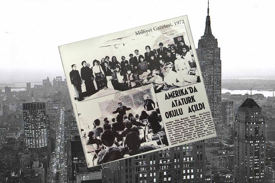 Amerika'da Ataturk Okulu acildi 1971