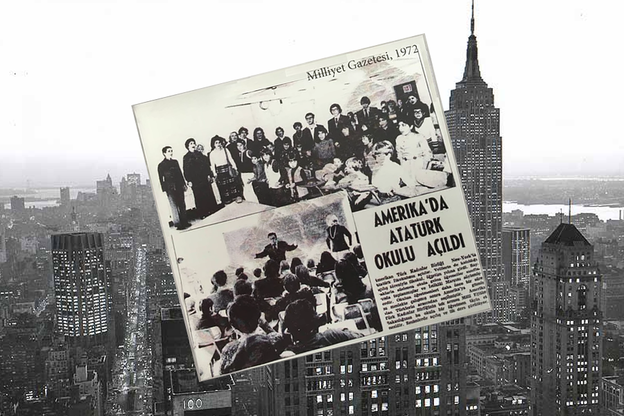 Ataturk School founded in America New York in 191